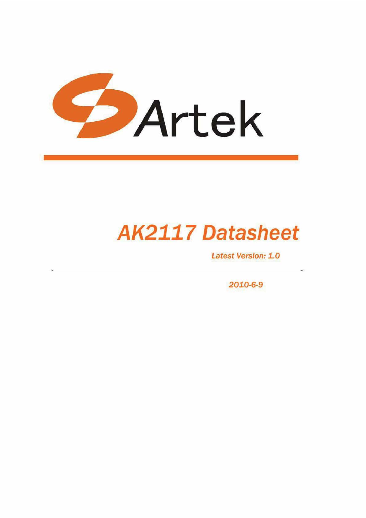 AK2117 image