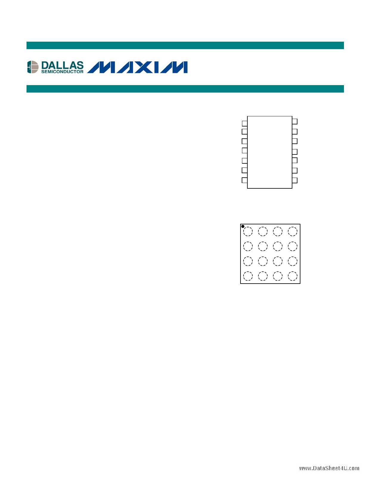 DS1847 دیتاشیت PDF