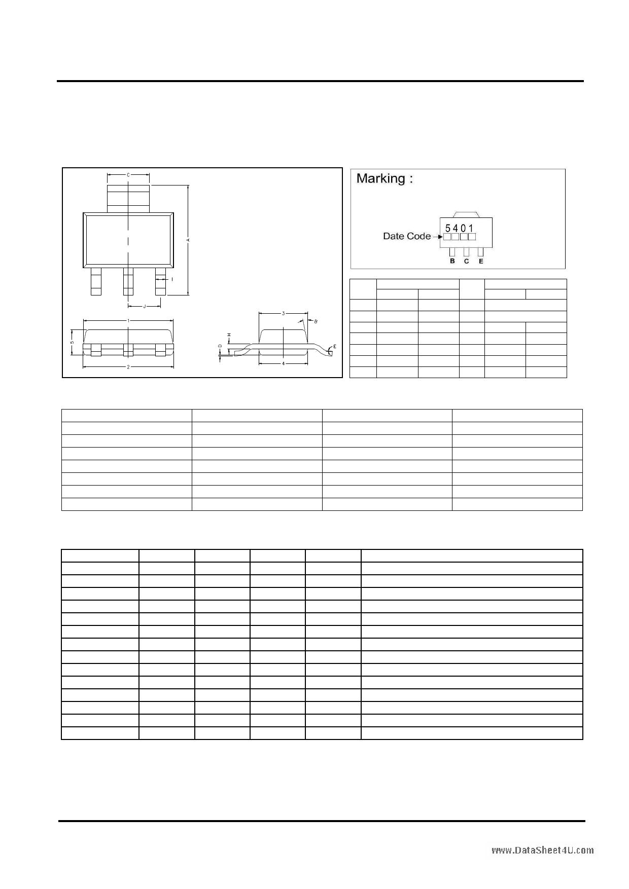 GM5401 datasheet