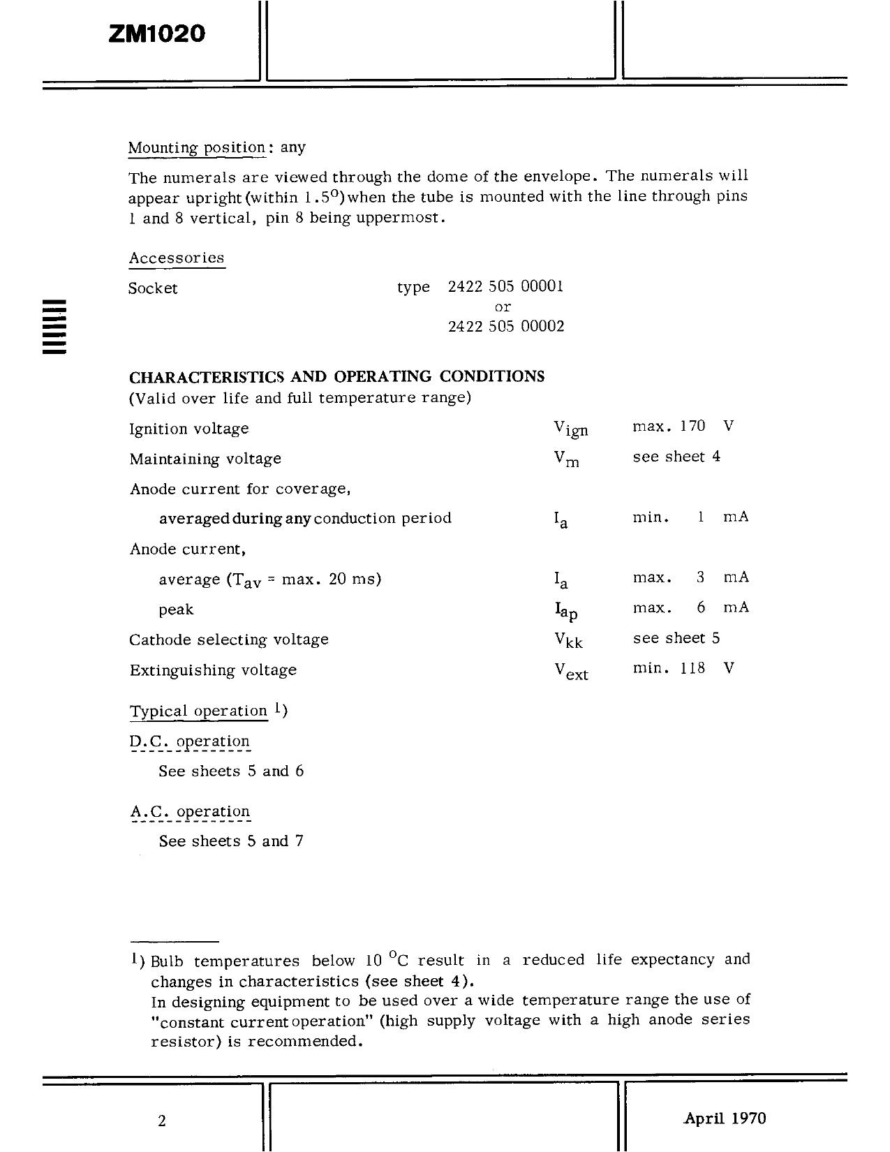 ZM1020 pdf, equivalent, schematic