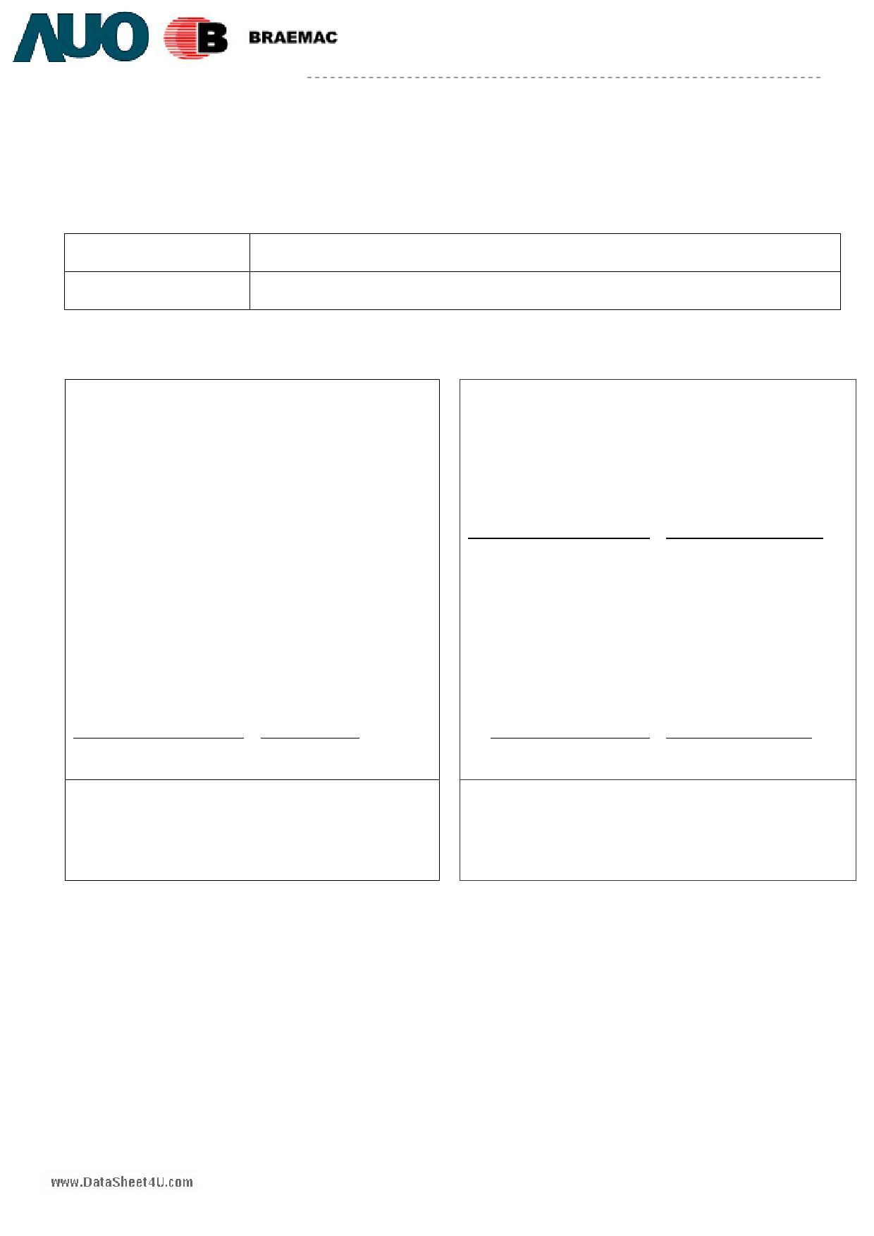G084SN05-V7 دیتاشیت PDF