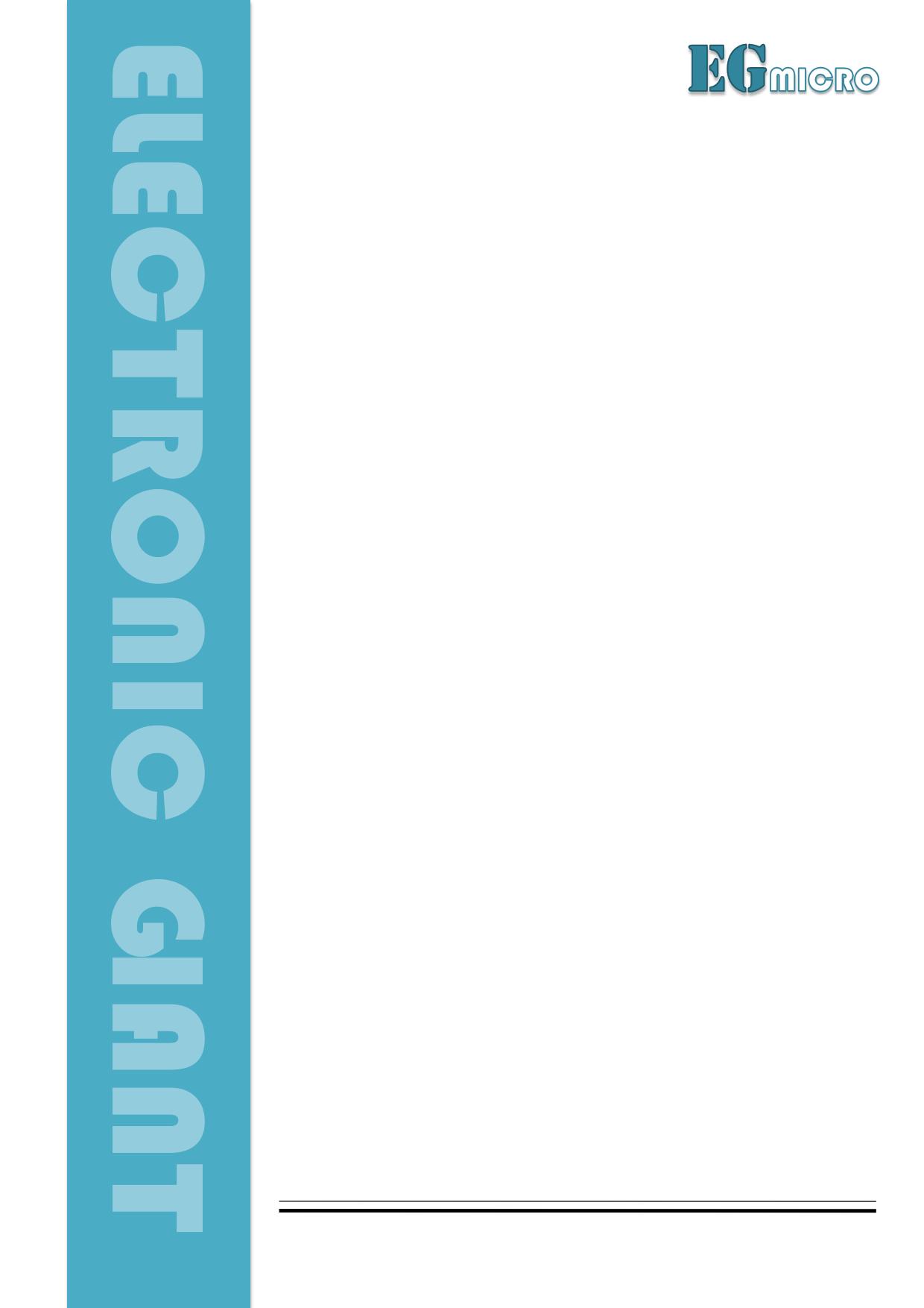 EG3013 دیتاشیت PDF