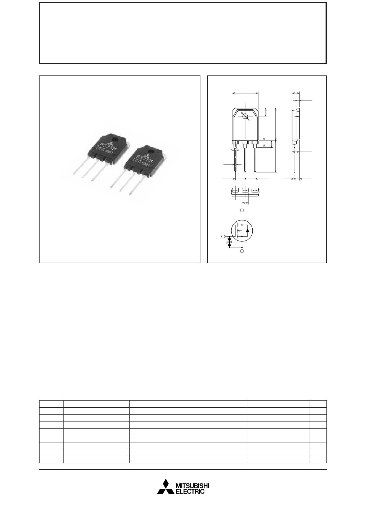 FS7SM-14A datasheet