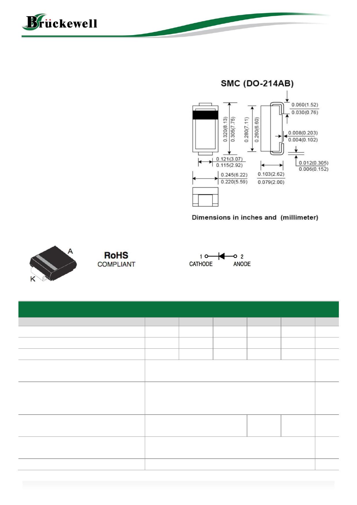 SUF501C datasheet