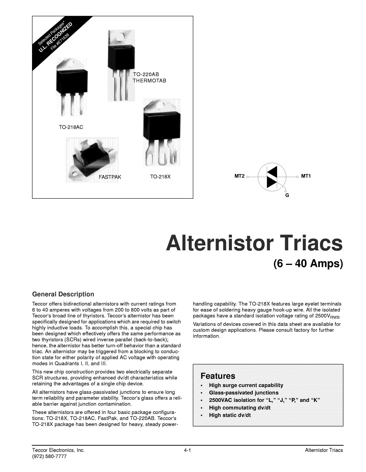 Q2006RH4 دیتاشیت PDF