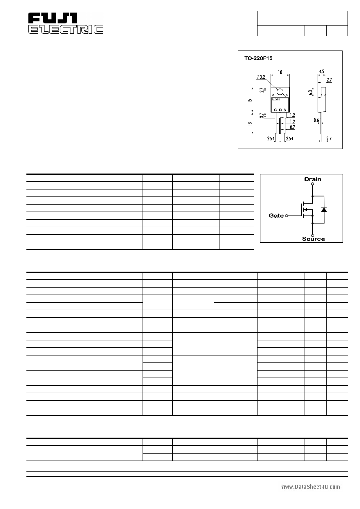 K2638 datasheet image