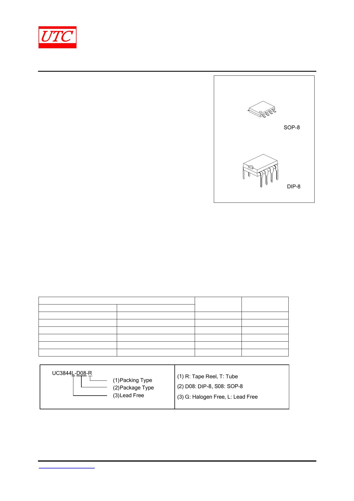 Uc3844 datasheet