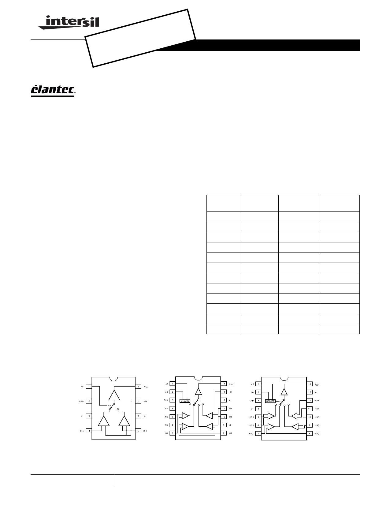 EL4421 دیتاشیت PDF