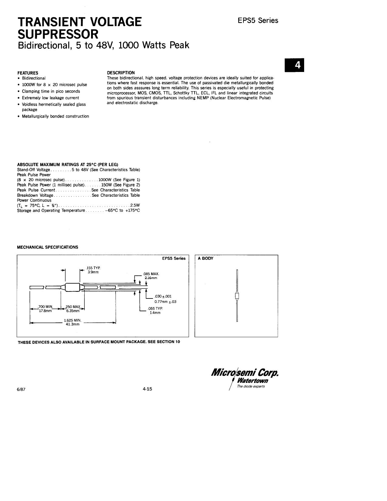 EPS28 دیتاشیت PDF