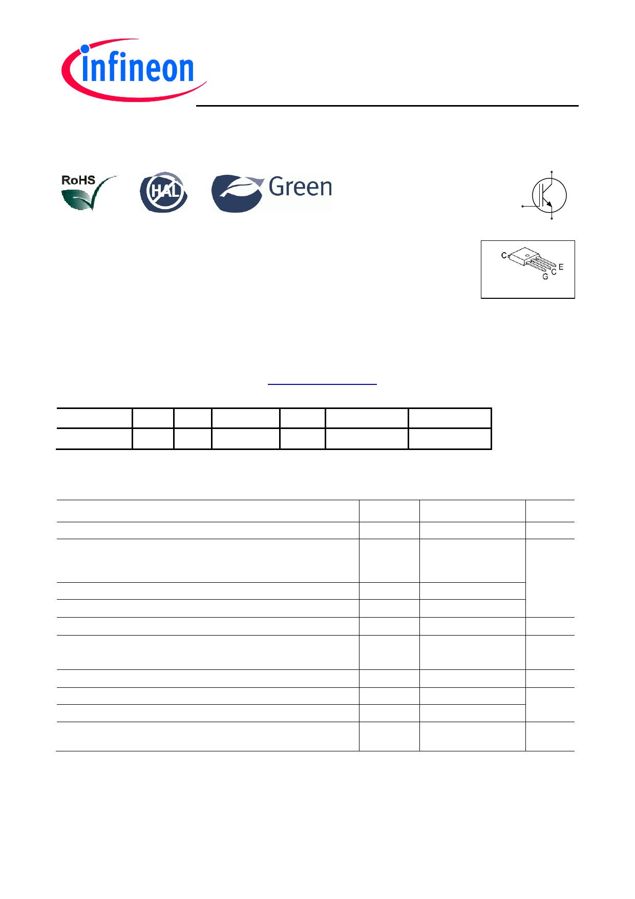 IGU04N60T Datasheet, IGU04N60T PDF,ピン配置, 機能