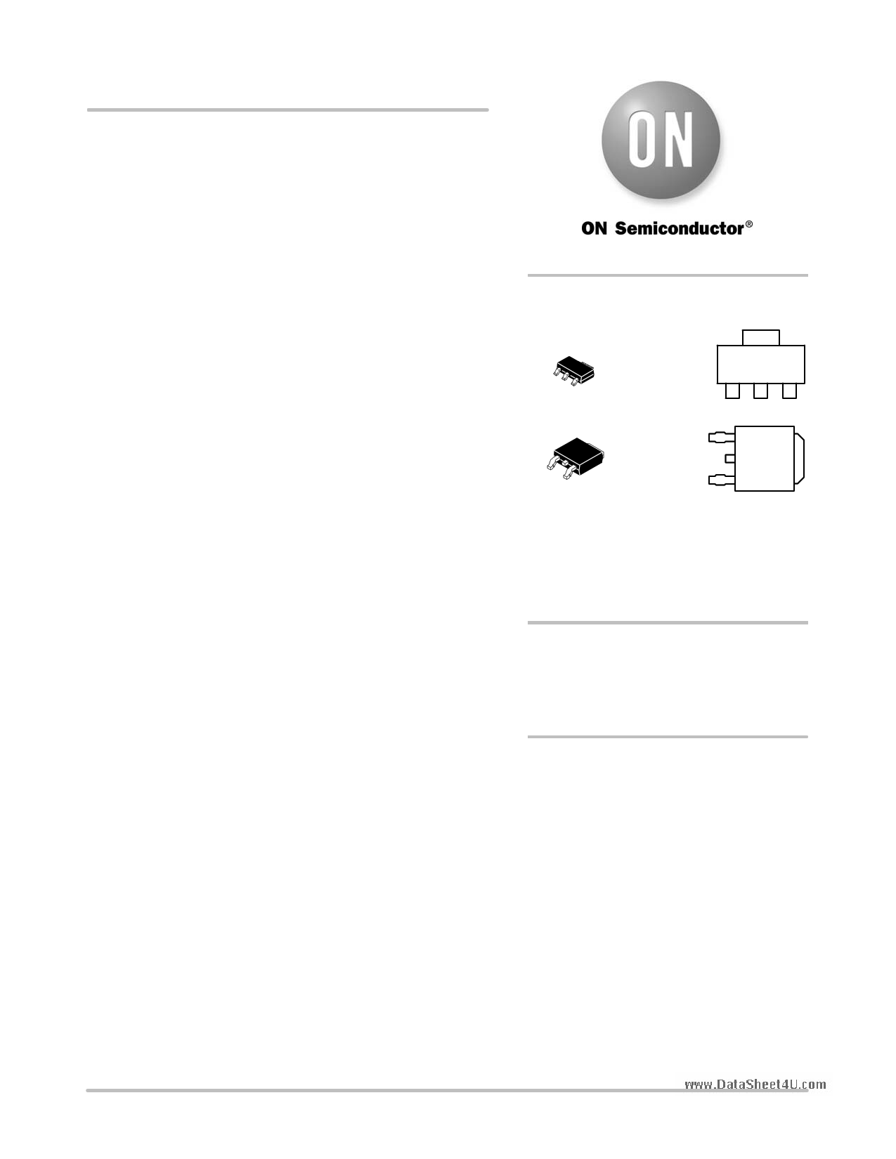 NCV8664 دیتاشیت PDF