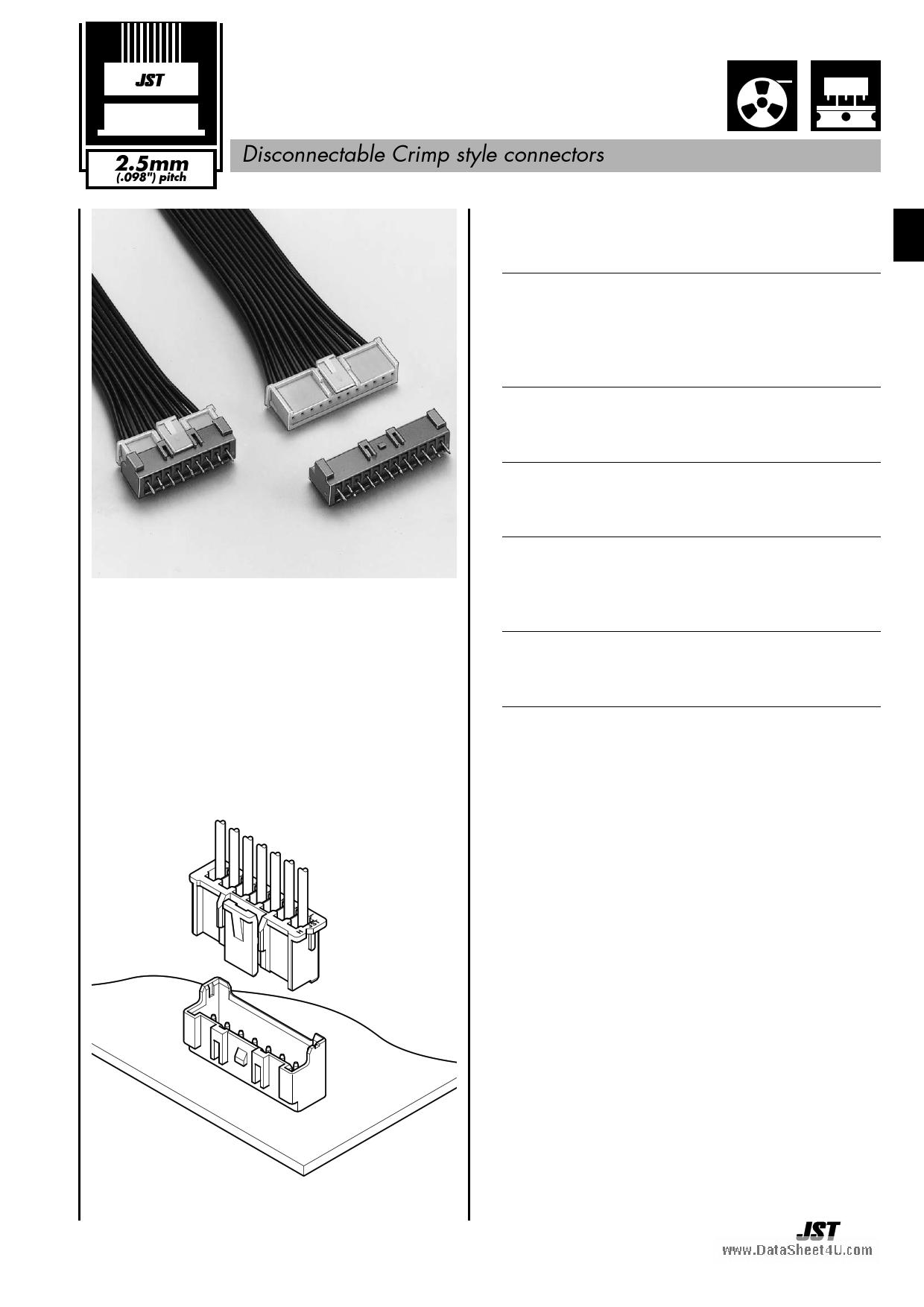 B03B-XASK-1N Hoja de datos, Descripción, Manual