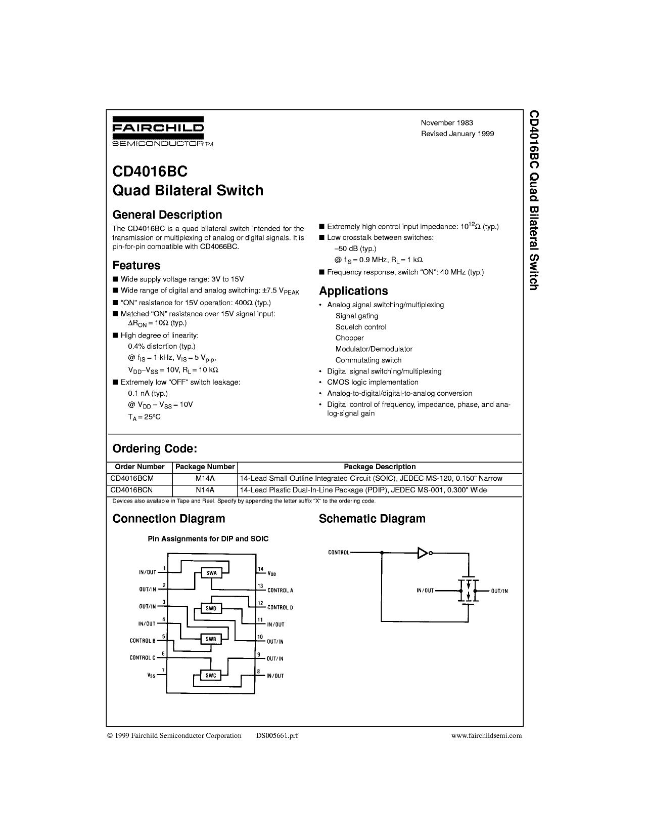 4016BC datasheet