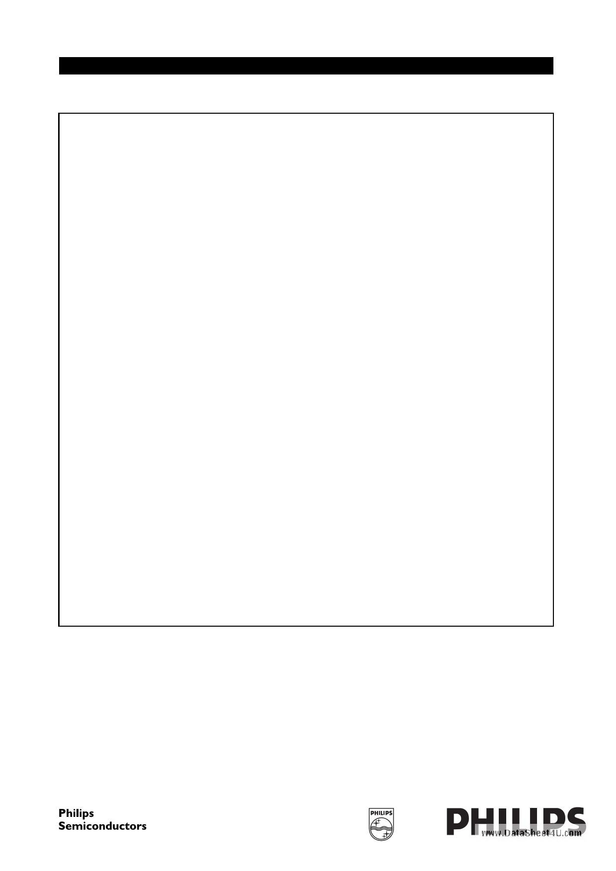 TDA9552H datasheet image