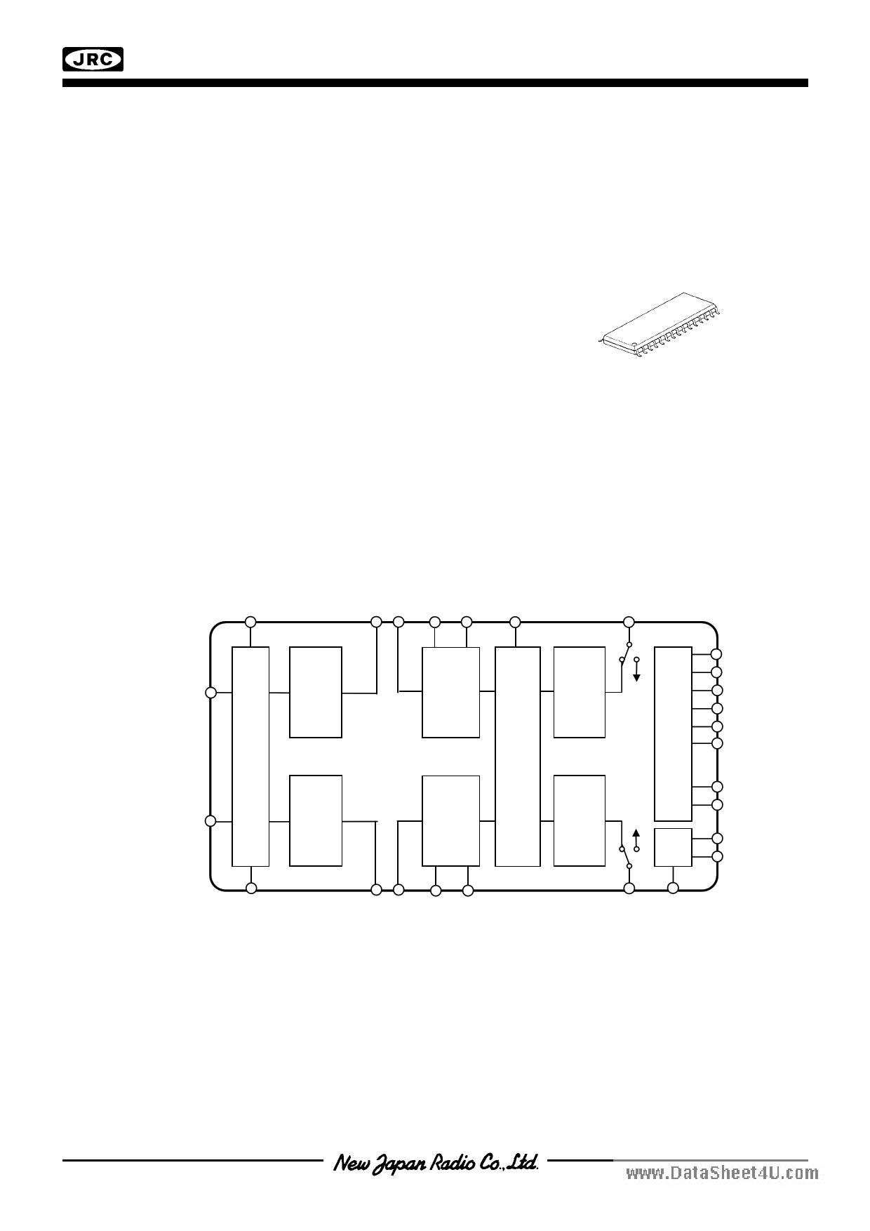 NJW1133A دیتاشیت PDF