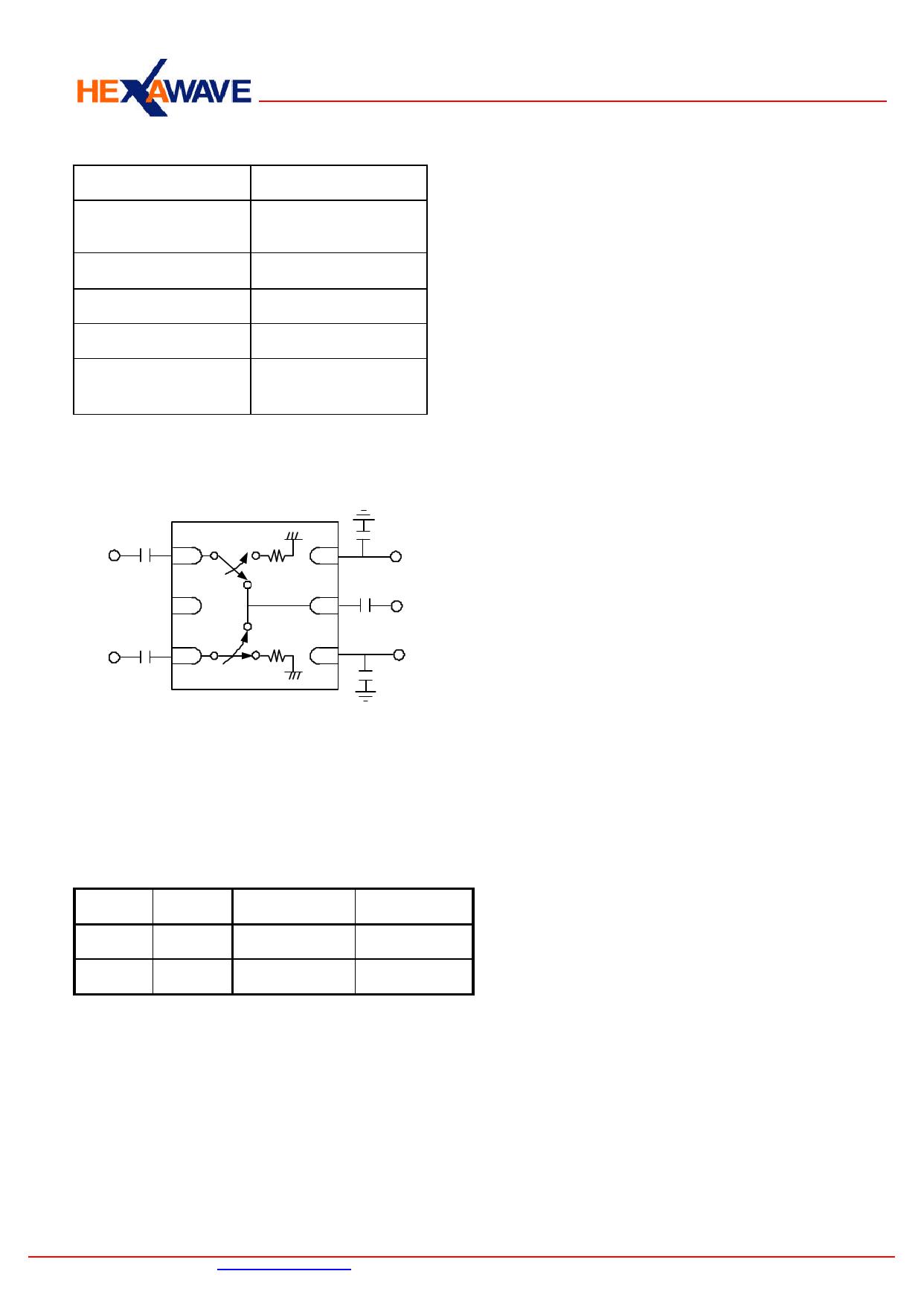 HWS516 pdf, ピン配列