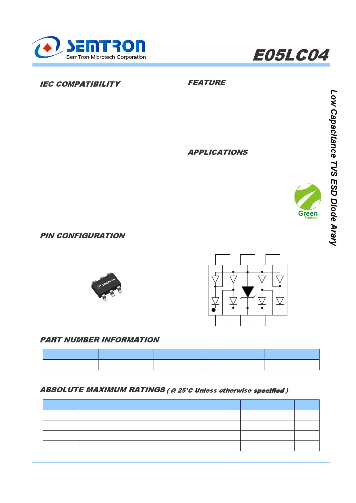 E05LC04 دیتاشیت PDF