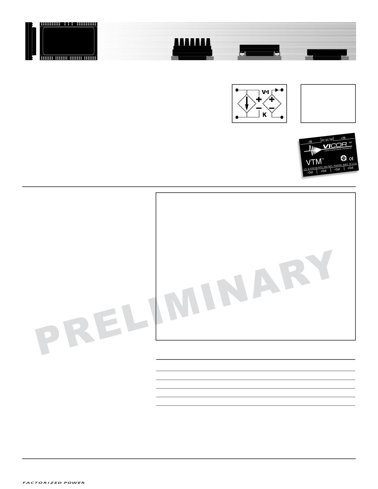 V048G015T80 datasheet