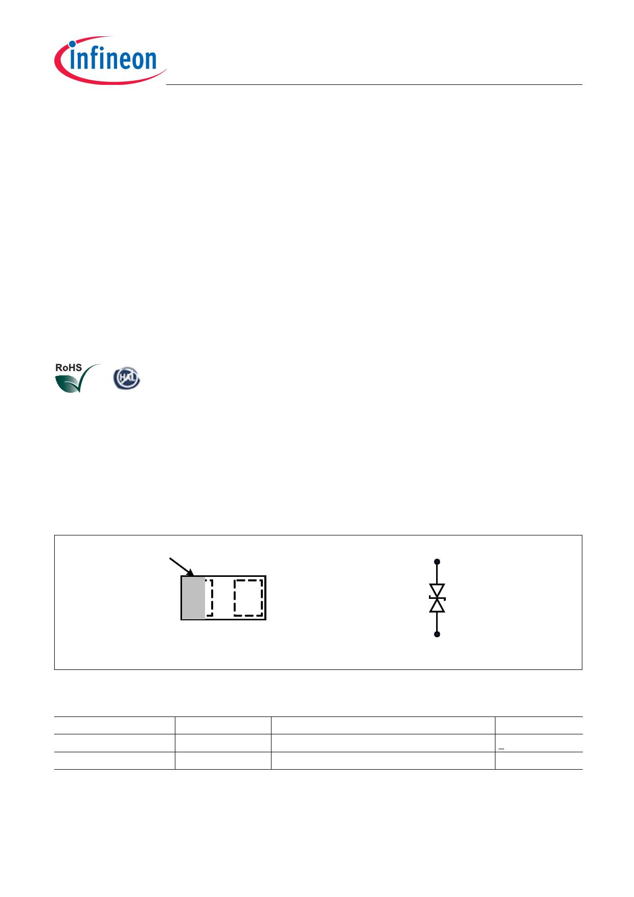 ESD113-B1 pdf, ピン配列