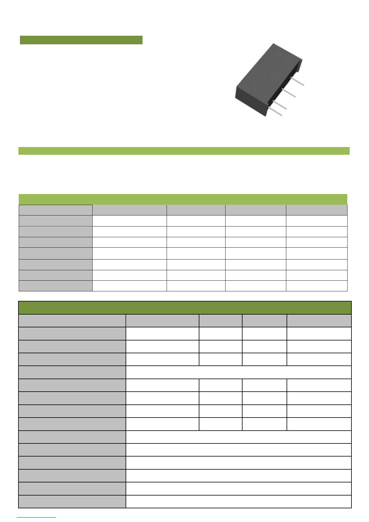 B0505LS-1W datasheet