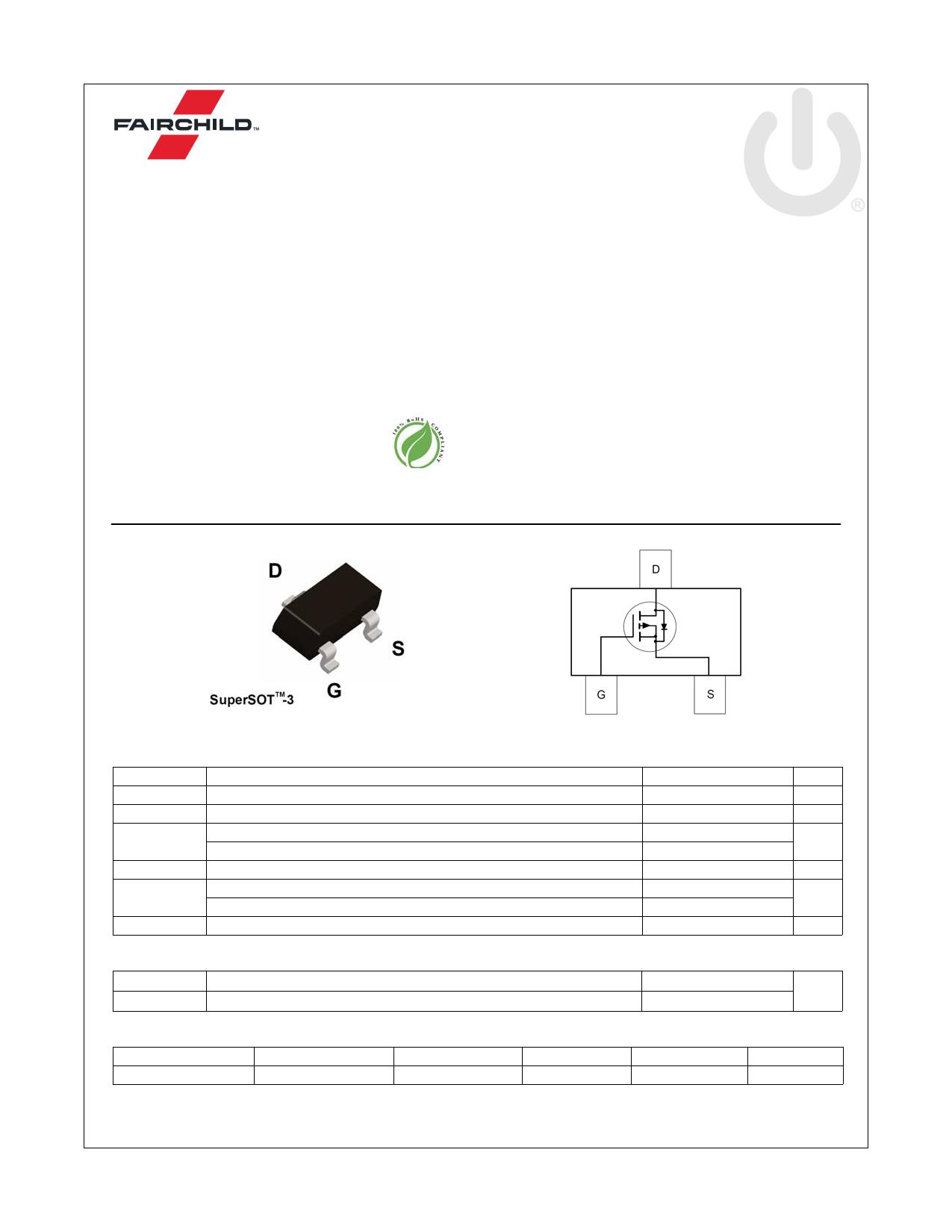 FDN86265P 데이터시트 및 FDN86265P PDF