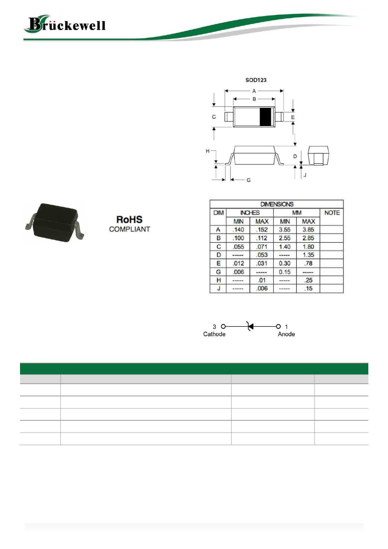 MMSZ5227B Datasheet