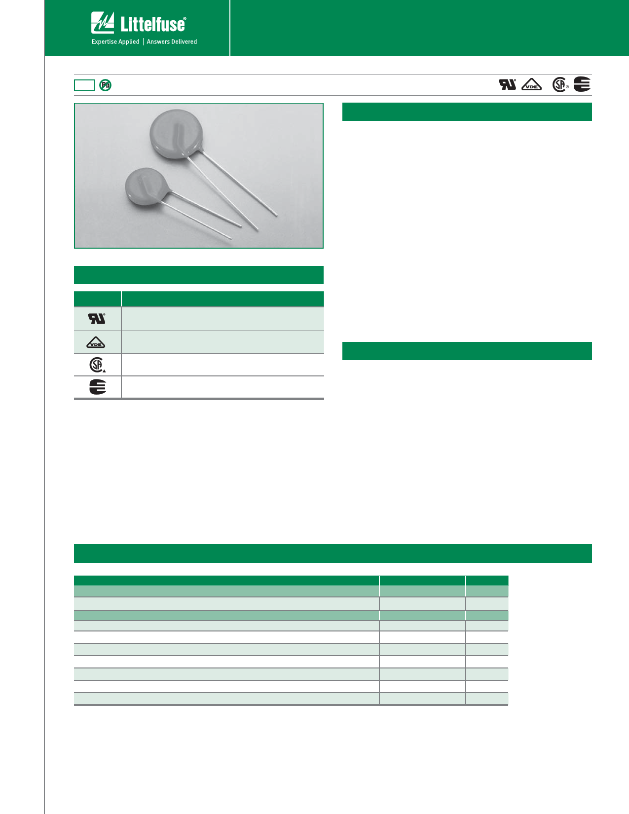 V07E140 datasheet