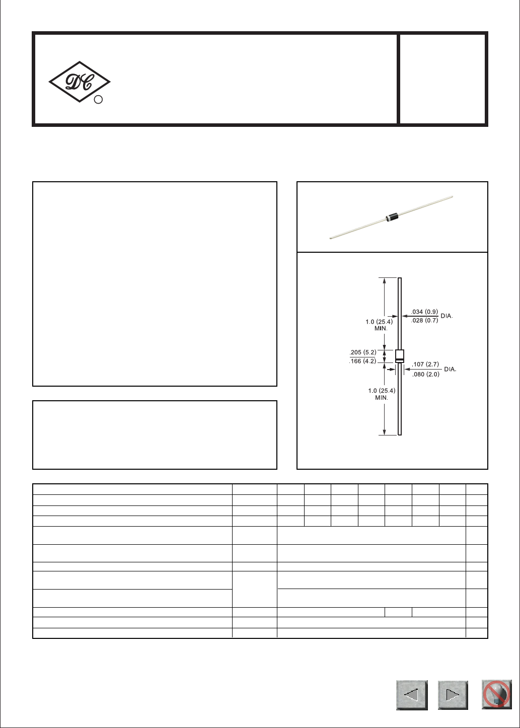 Fr107 datasheet