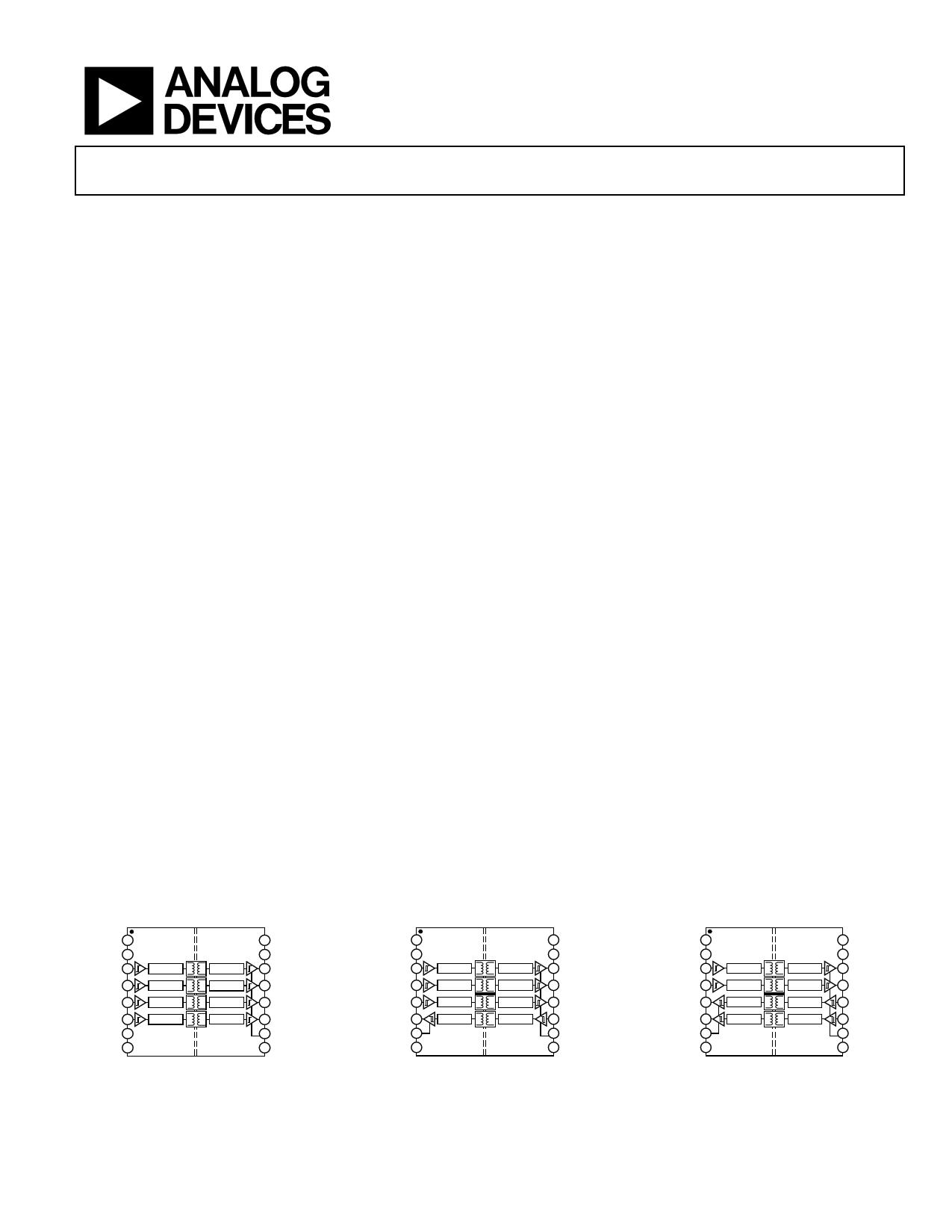 ADUM3401 دیتاشیت PDF