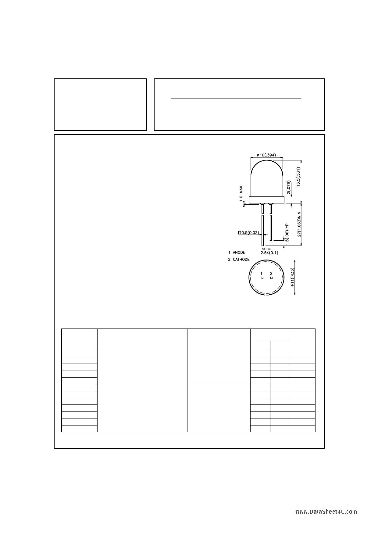 L-813SRD-C datasheet
