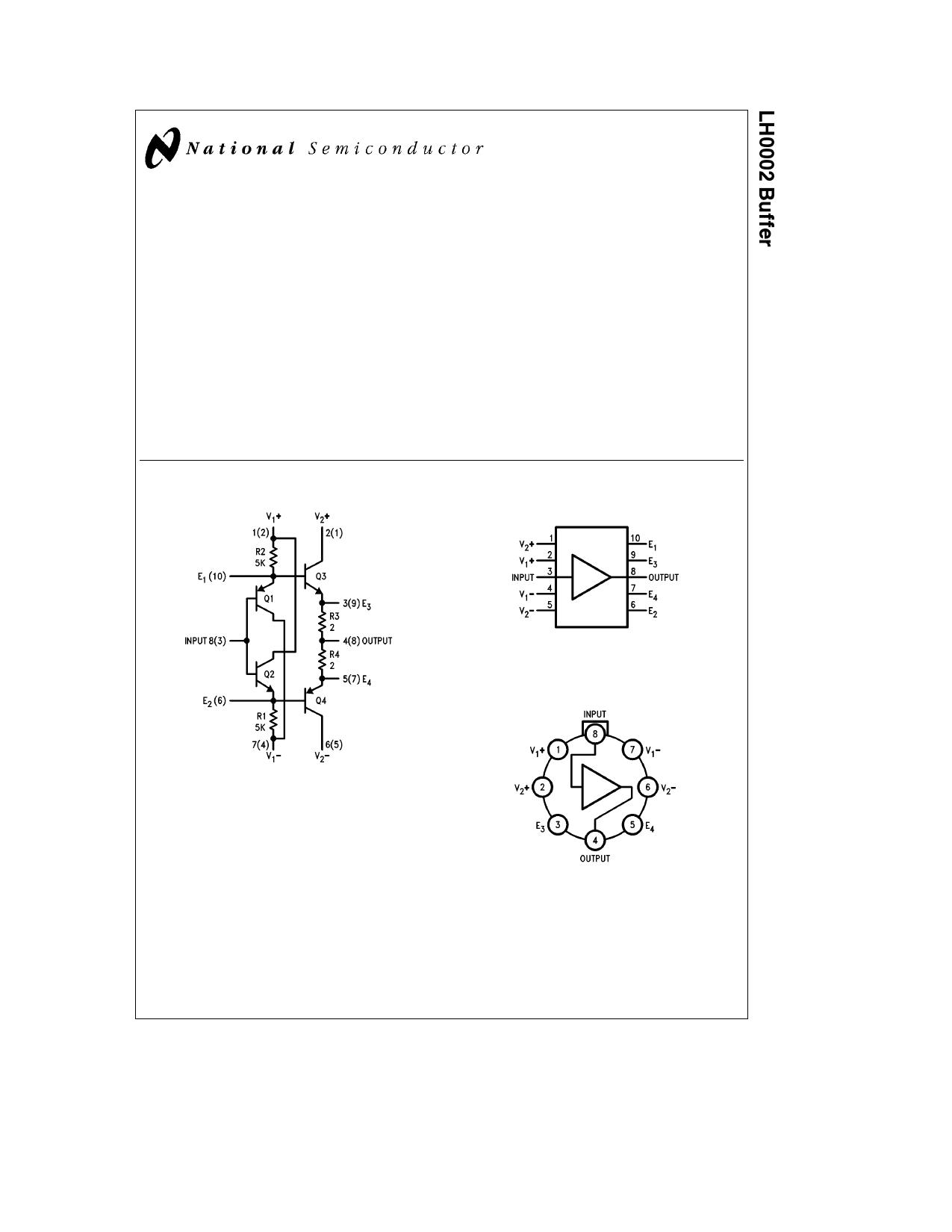lh0002 datasheet pdf   pinout