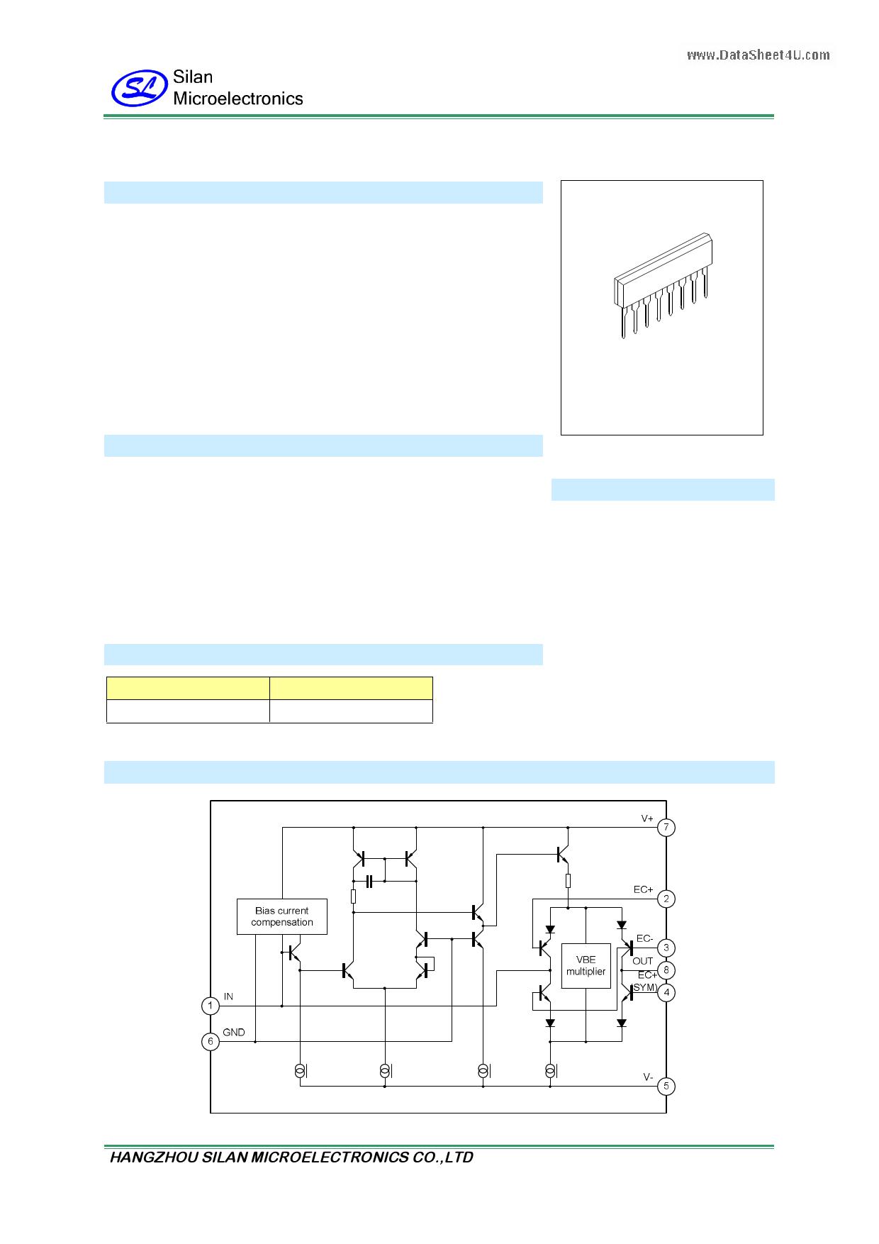 SA2159 دیتاشیت PDF