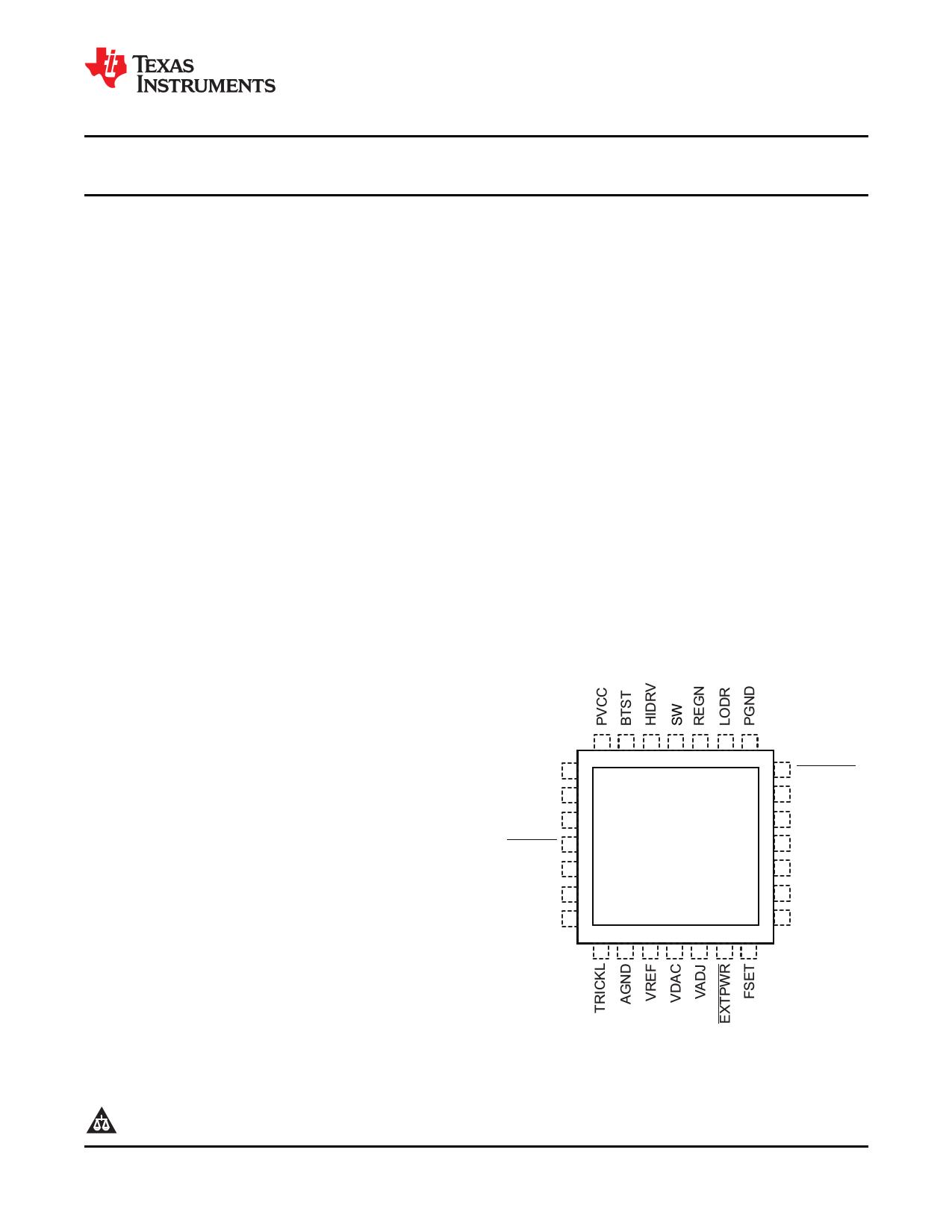 bq24741 Datasheet, bq24741 PDF,ピン配置, 機能
