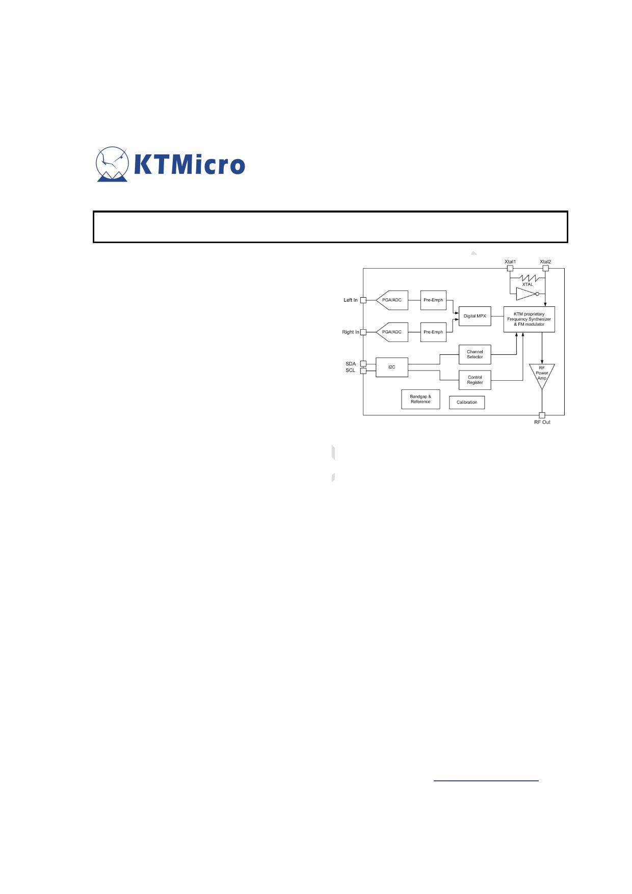KT0803L image