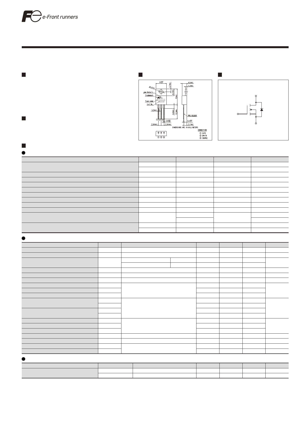 08N50E Datasheet, 08N50E PDF,ピン配置, 機能
