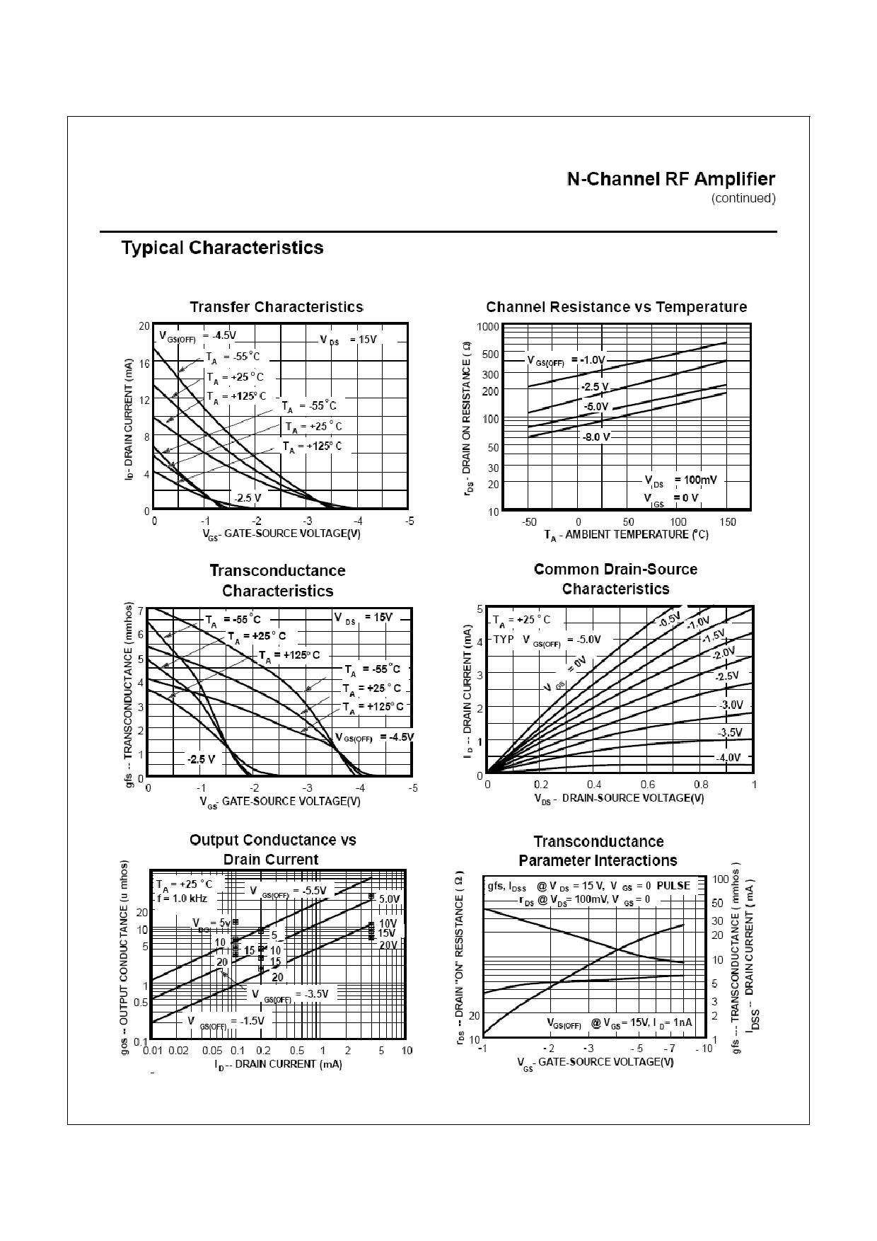 2N5484 pdf, ピン配列