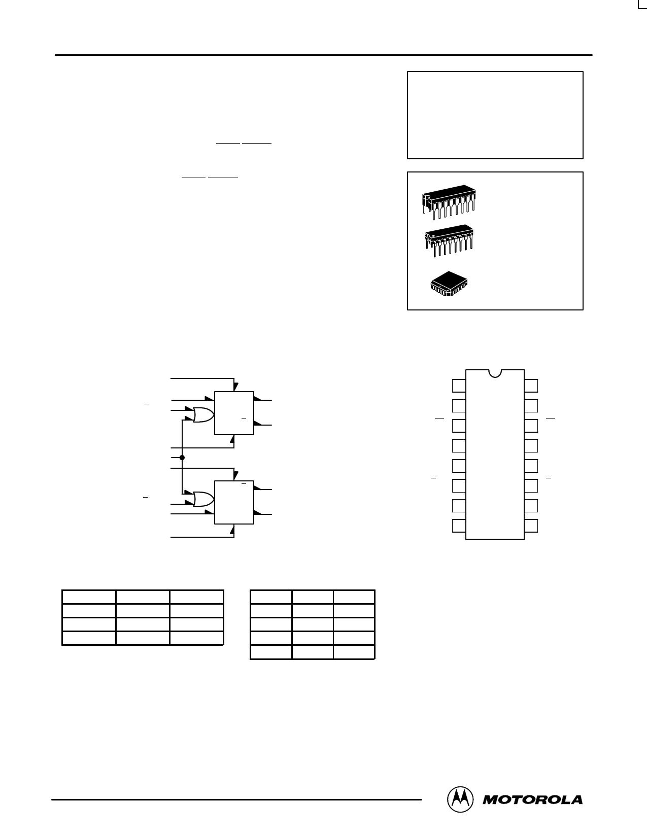 mc10131fn datasheet pdf   pinout