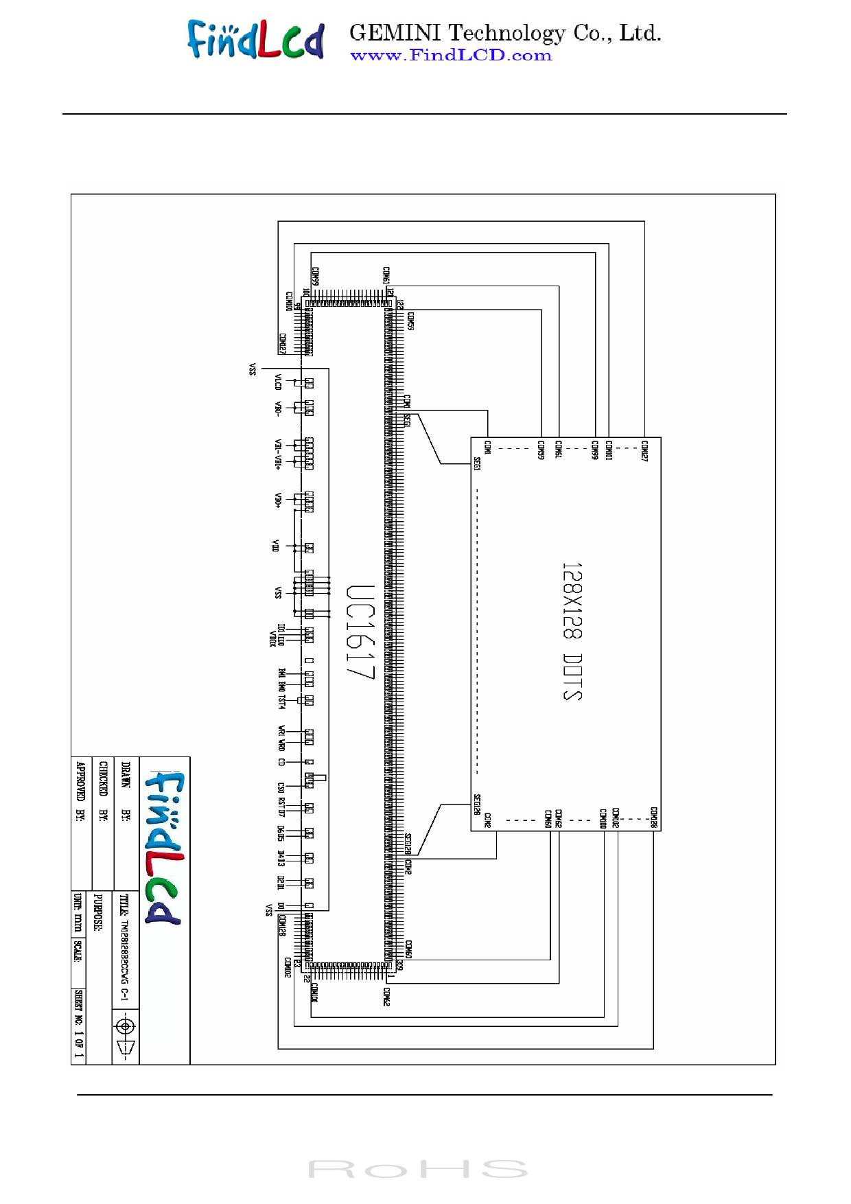 TM128128B2CCWG 전자부품, 판매, 대치품