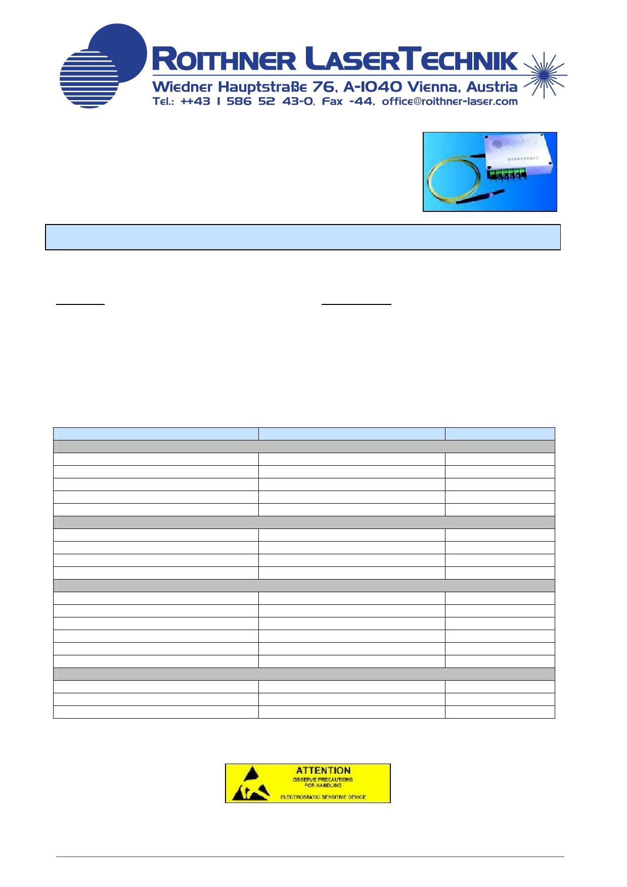 G081PU25W datasheet