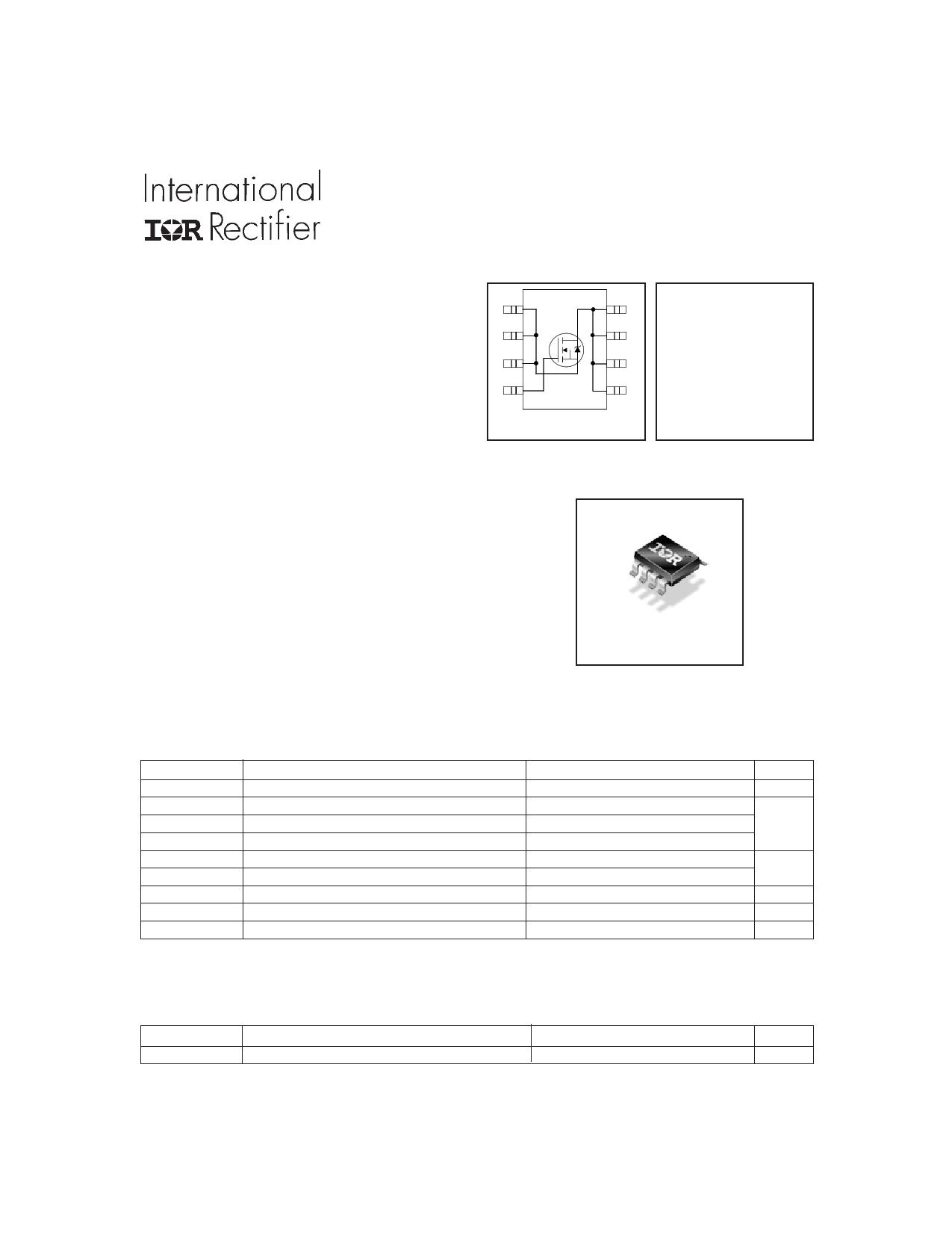 IRF7607 دیتاشیت PDF