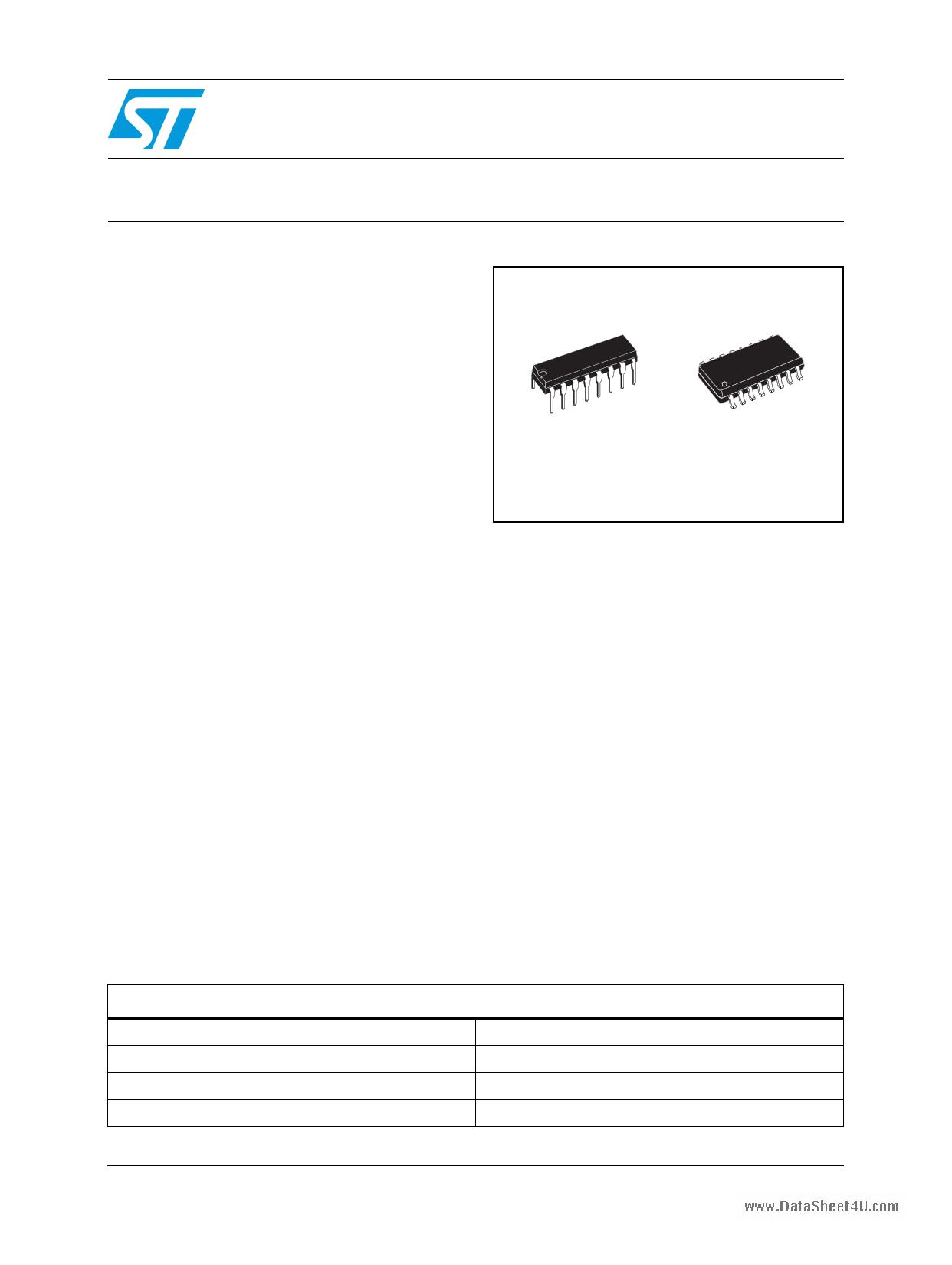 E-ULN200xA Hoja de datos, Descripción, Manual