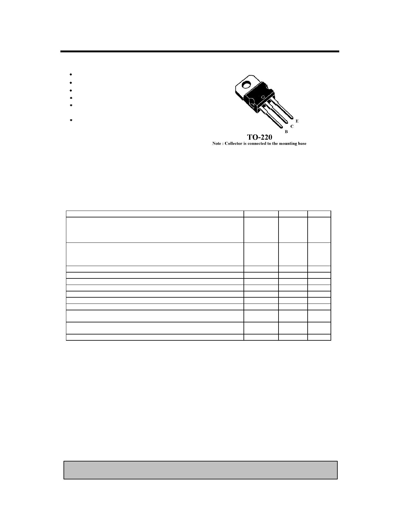 TIP41C دیتاشیت PDF