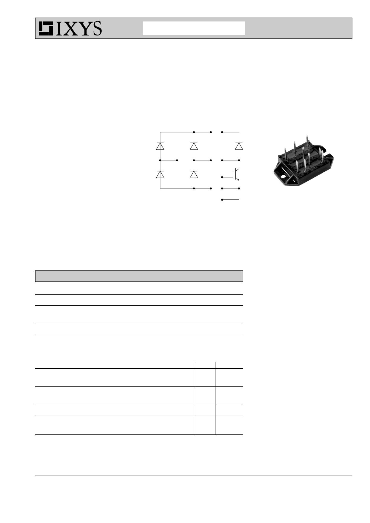 VUI9-06N7 datasheet