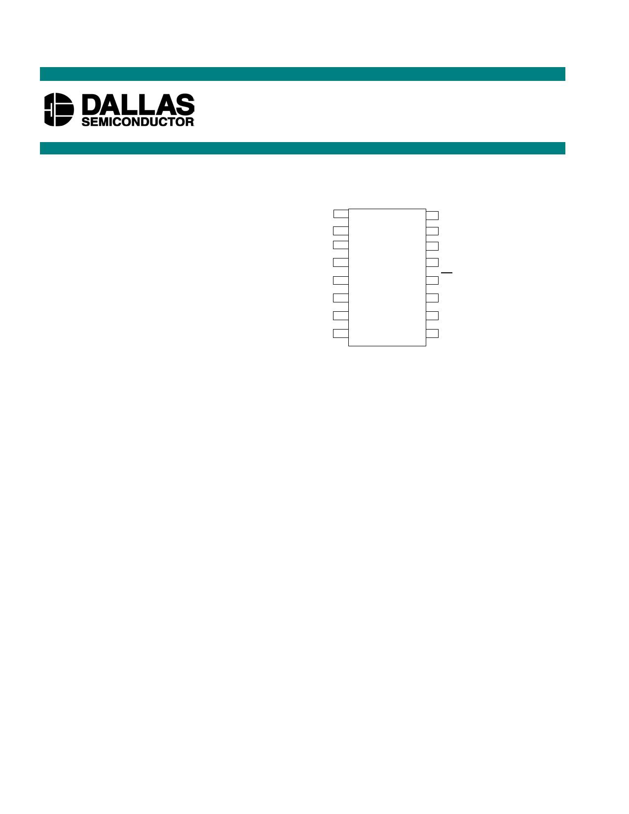 DS1808 دیتاشیت PDF
