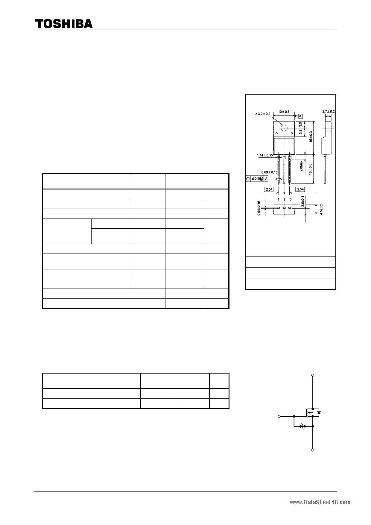 K3561 datasheet image