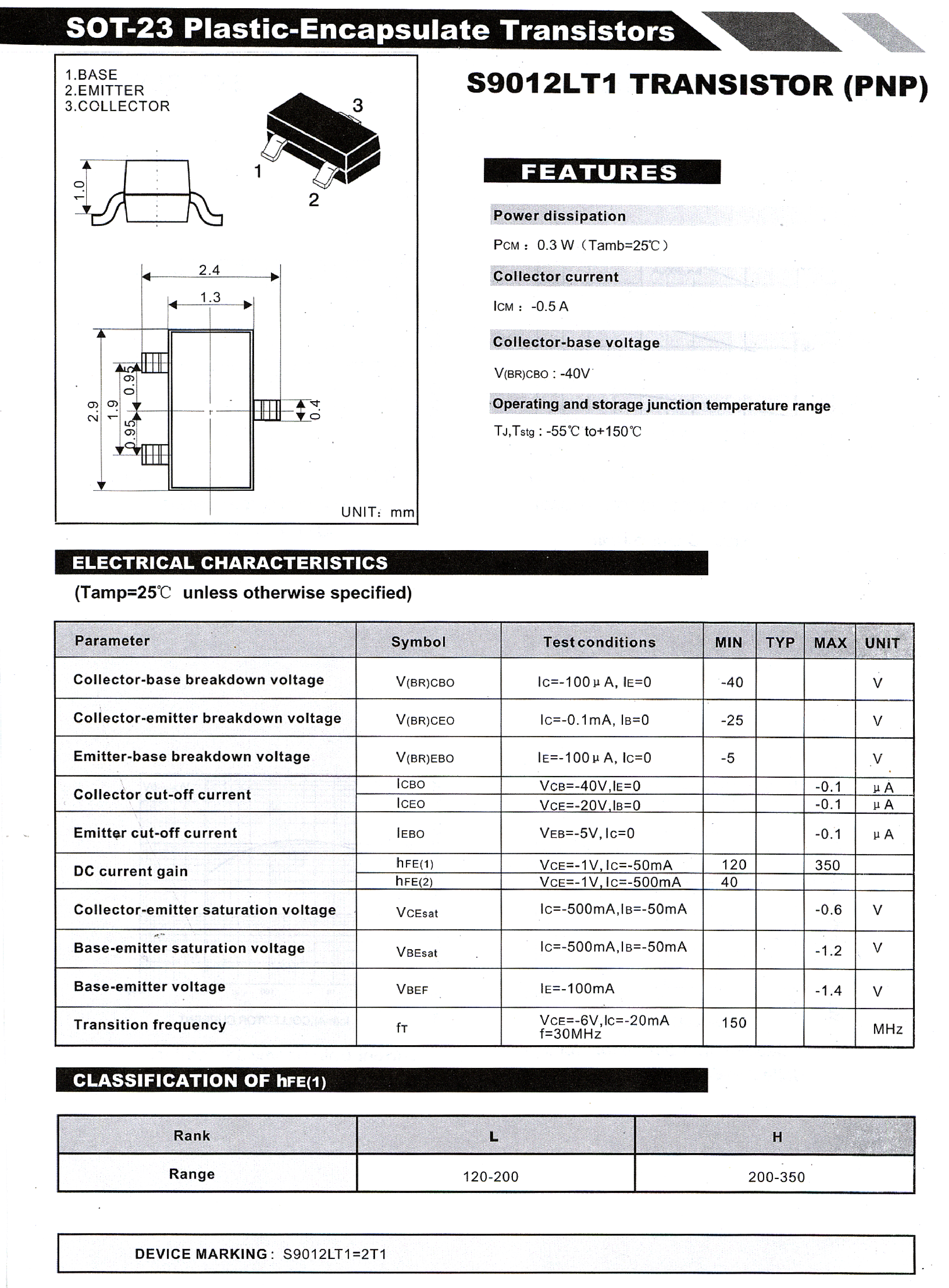 Drain-source breakdown voltage: 60 v continuous drain current: 03 a resistance drain-source rds (on)