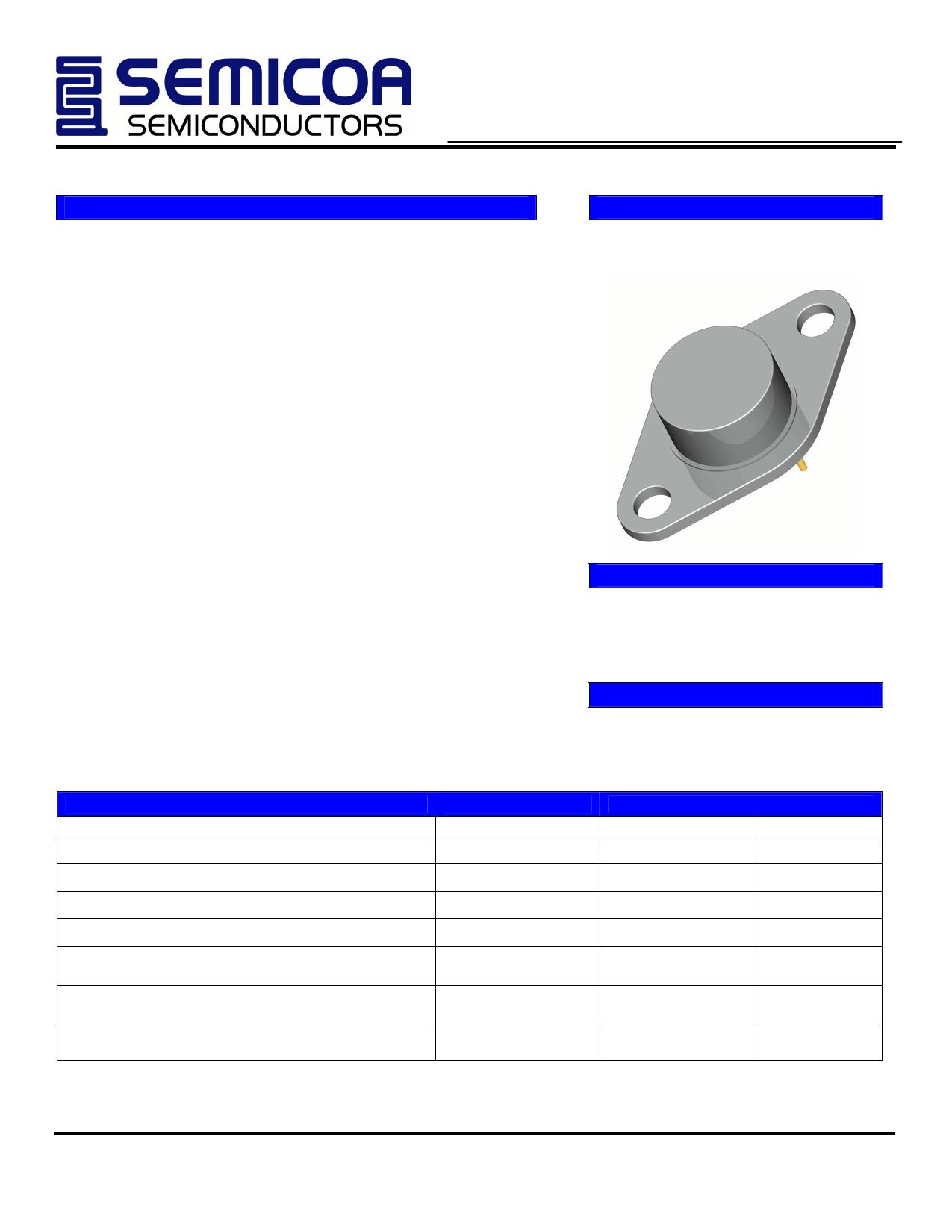 2N5661 دیتاشیت PDF