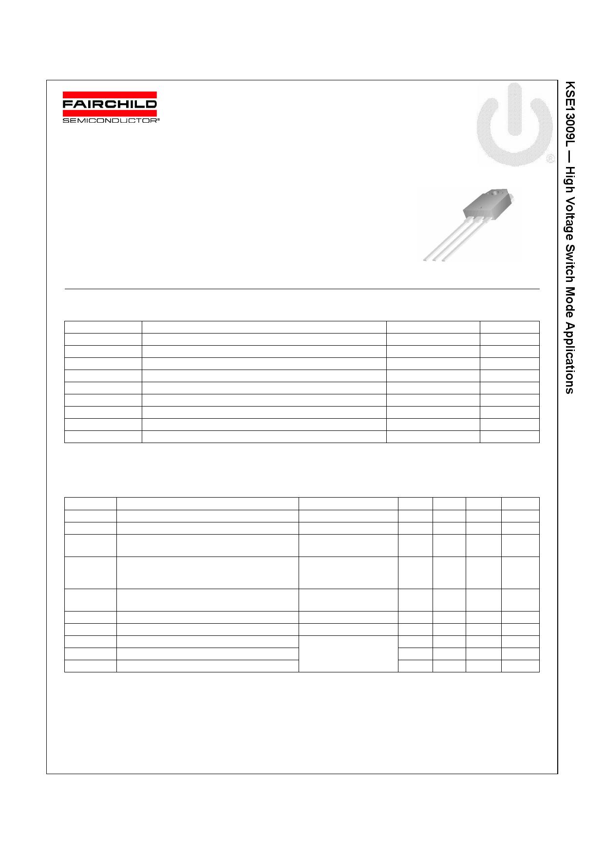 E13009L دیتاشیت PDF