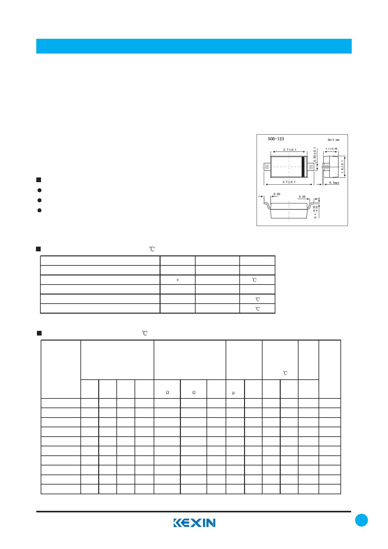 BZT52C10 Datasheet, BZT52C10 PDF,ピン配置, 機能