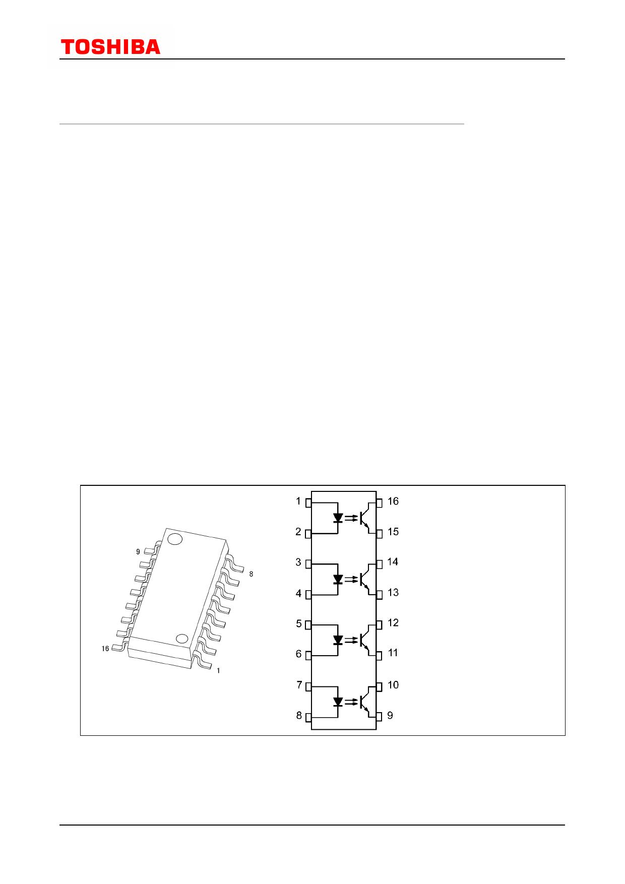 TLP291-4 Datasheet